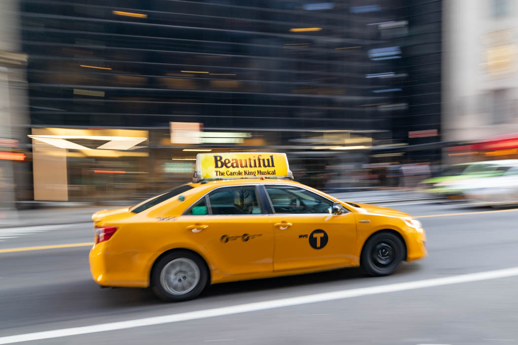 Taxi fahren in New York