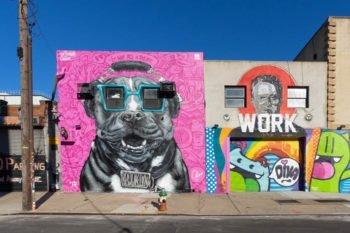 Streetart in Bushwick