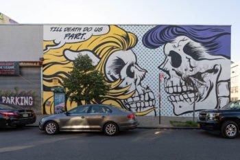 Streetart in Bushwick - ein Viertel von Brooklyn