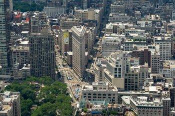 Aussicht auf das Flatiron Building