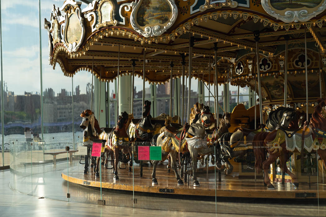 Jane's Carousel in Brooklyn