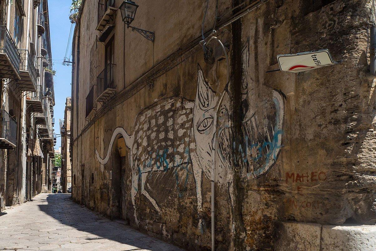 Streetart in Palermo