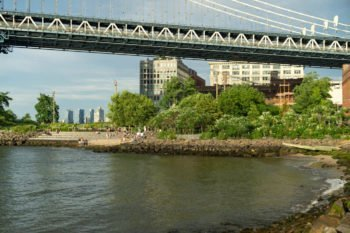 Pebble Beach in Brooklyn Dumbo