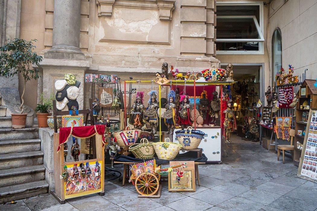 Souvenirgeschäft, Palermo