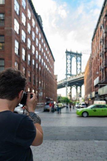 Basti beim Fotografieren