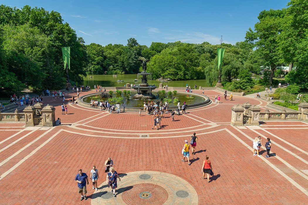 Der Bethesda Fountain im Central Park