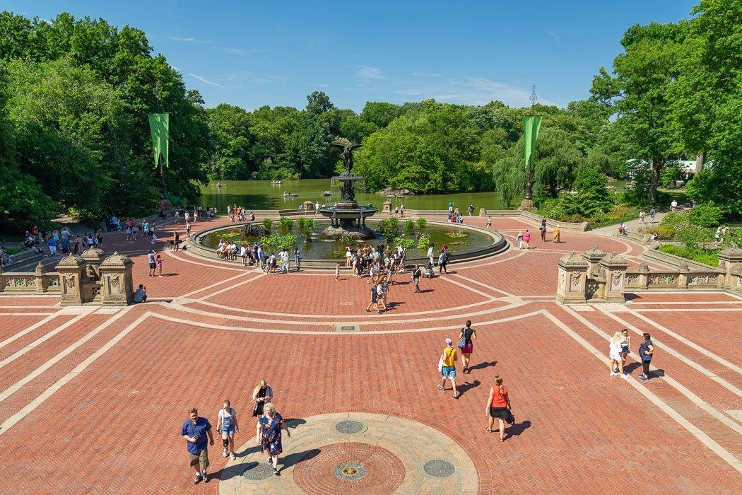 Der Bethesda Fountain im Central Park