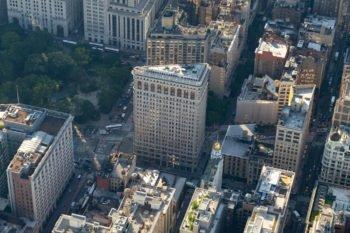 Flat Iron Building von oben
