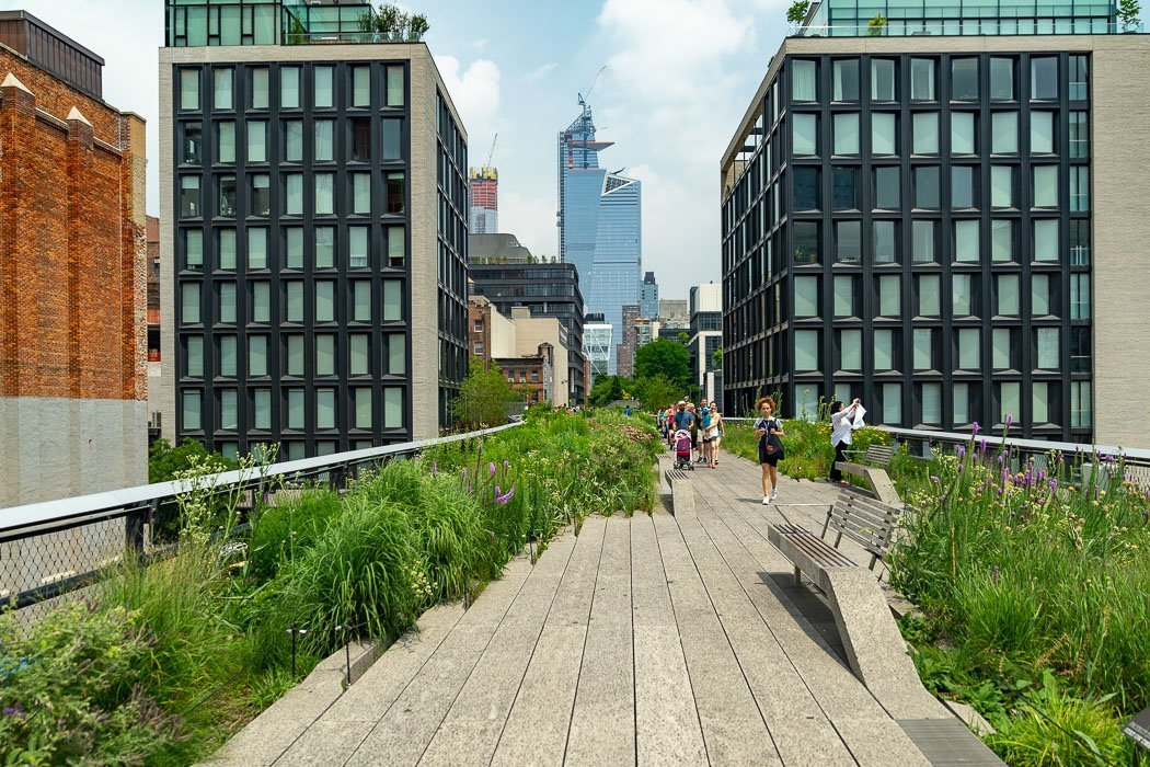 Die High Line in New York