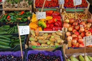 Vucciria Markt Gemüse