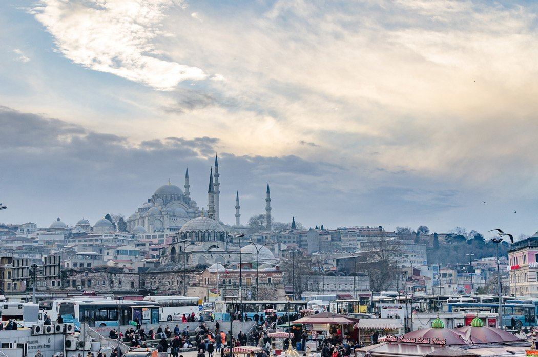 Panoramablick über Istanbul