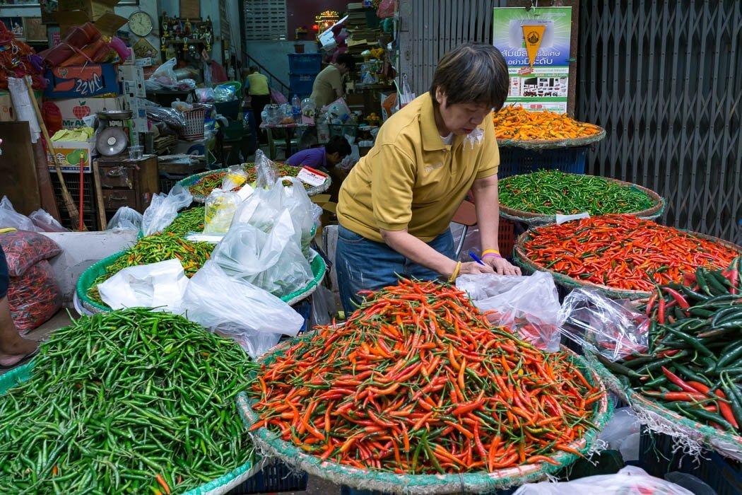 Bangkok Markt