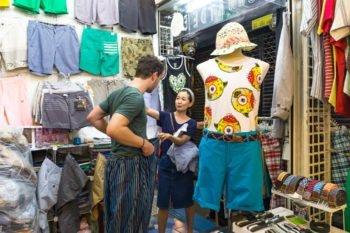 Chatuchak Markt Kleidung
