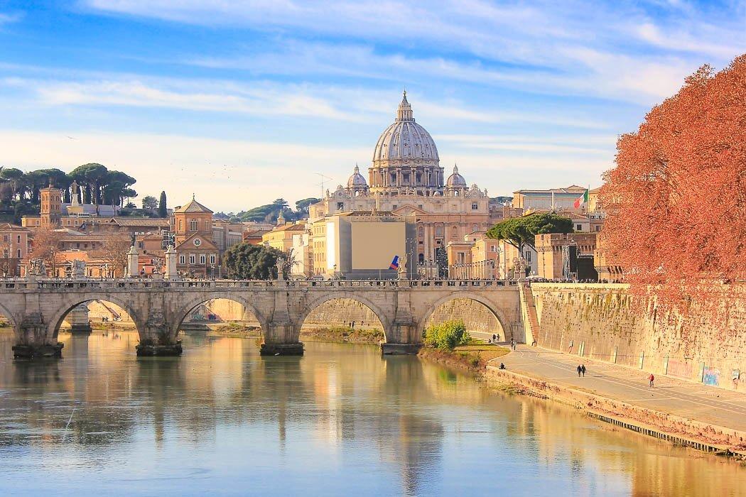 Vatikanstadt und die Engelsbrücke