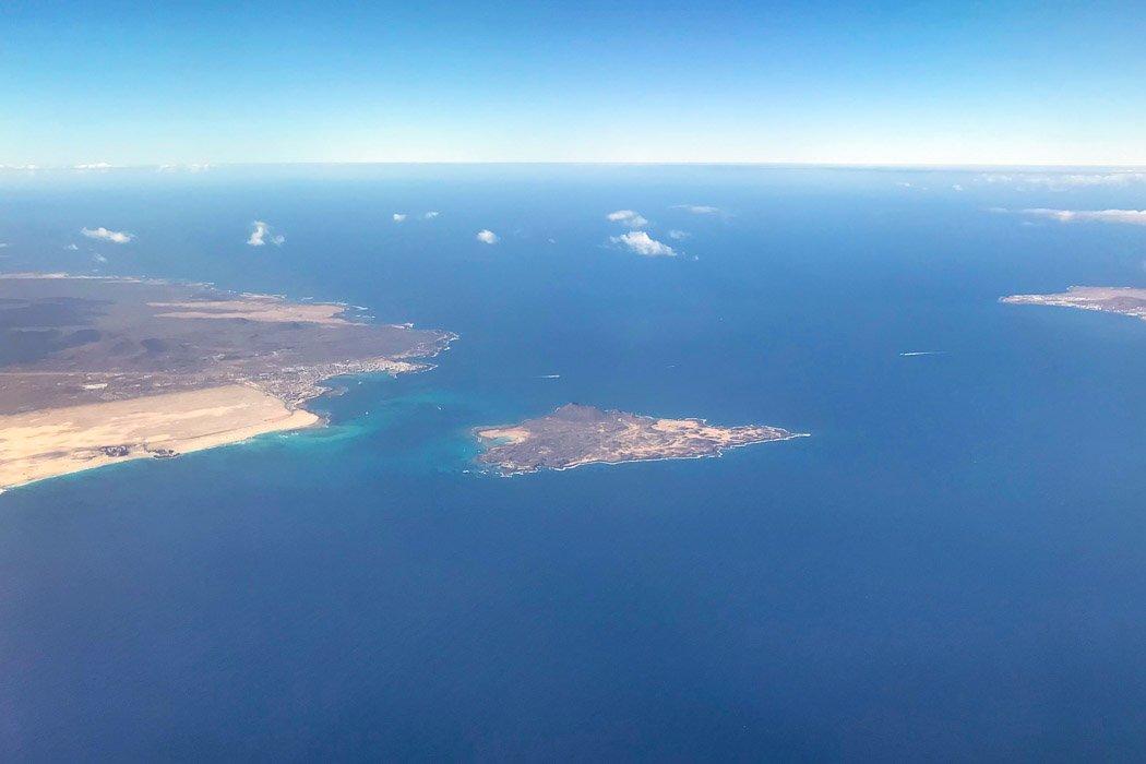 Corralejo, die Insel Lobos und Lanzarote