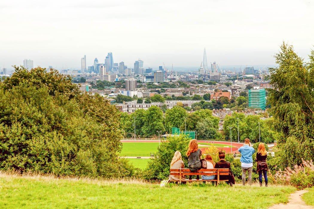 Ausblick vom Highgate Hampstead Park