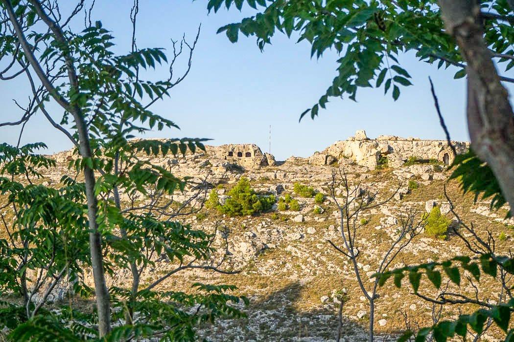 Naturhistorischer Regionalpark vor Matera