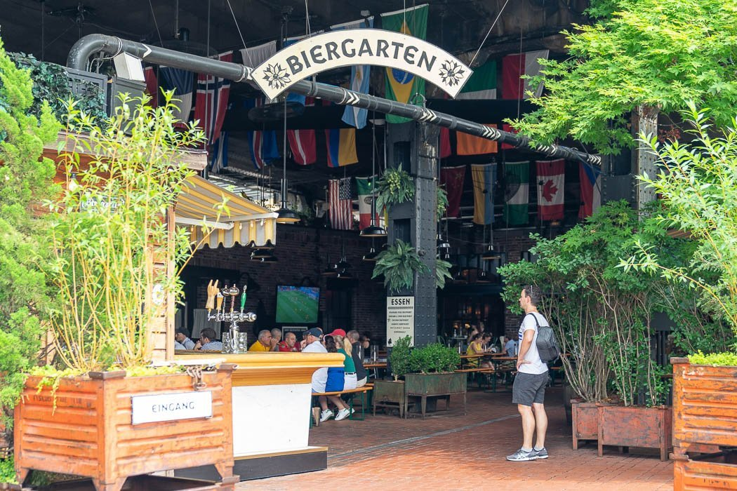 The Standard Biergarten