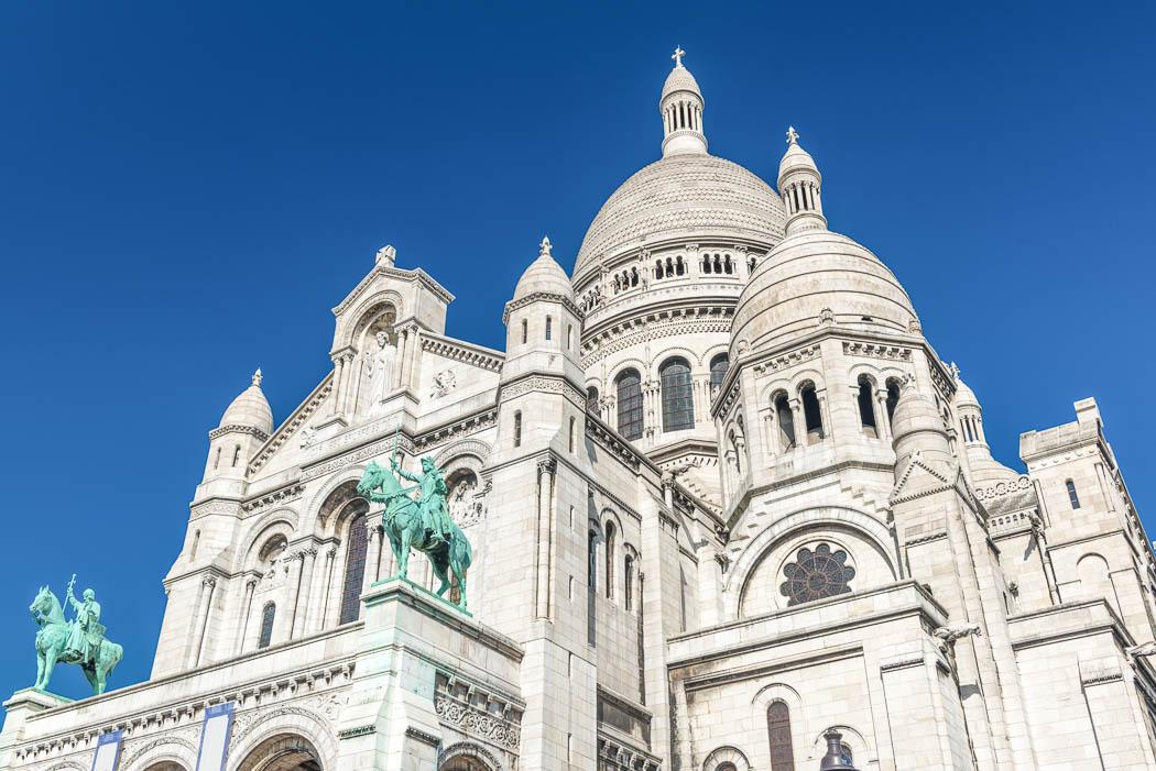 The Sacré-Cœur Basilica in Montmartre