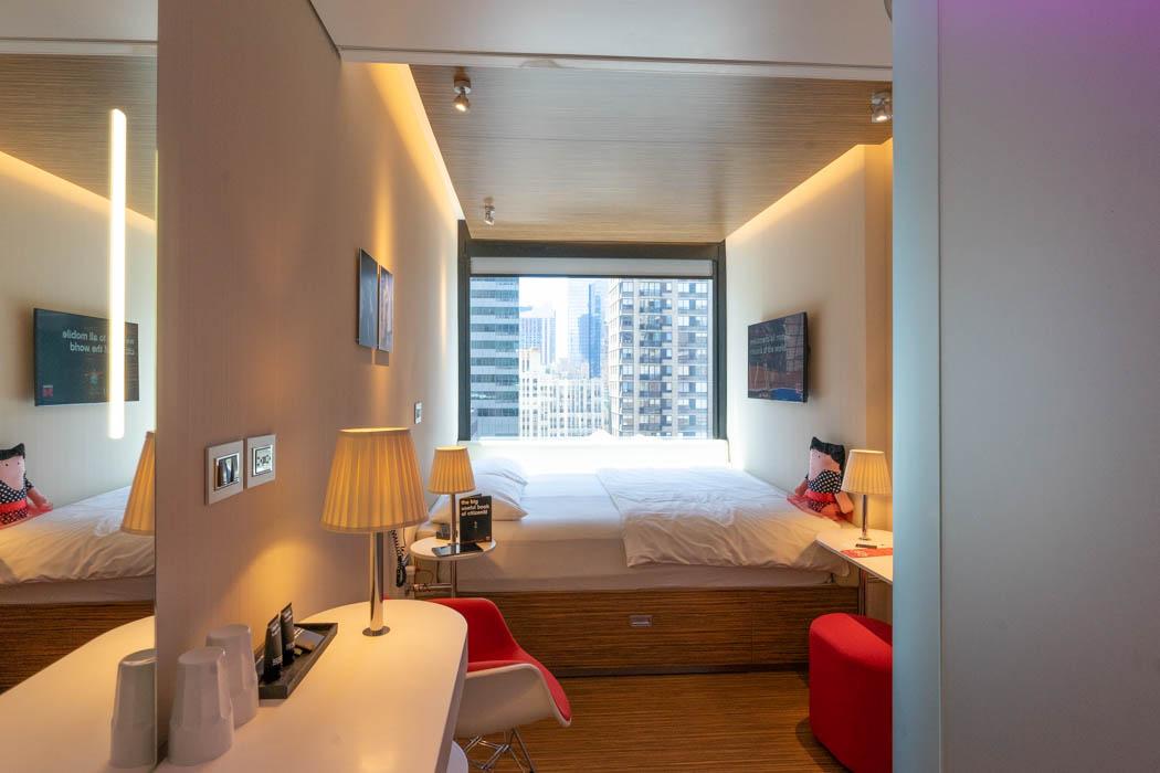 Hoteltzimmer CitizenM