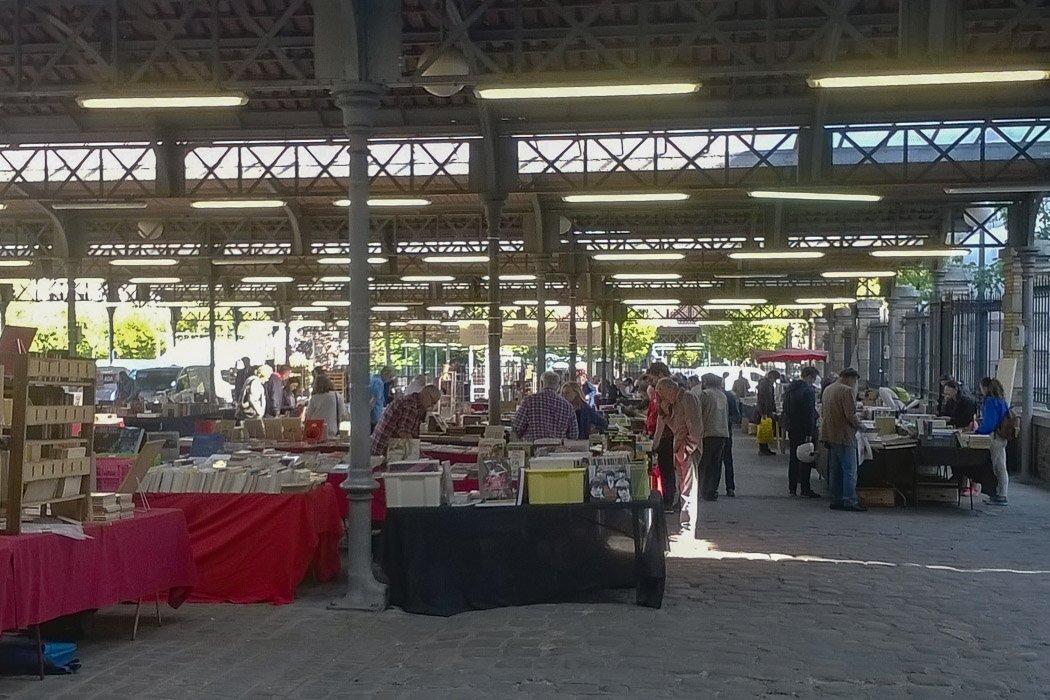 Büchermarkt in Paris
