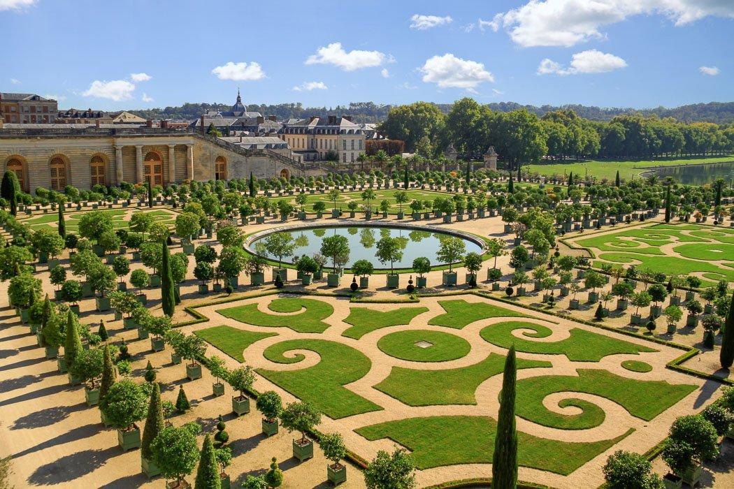 Die Gärten des Schloss Versailles