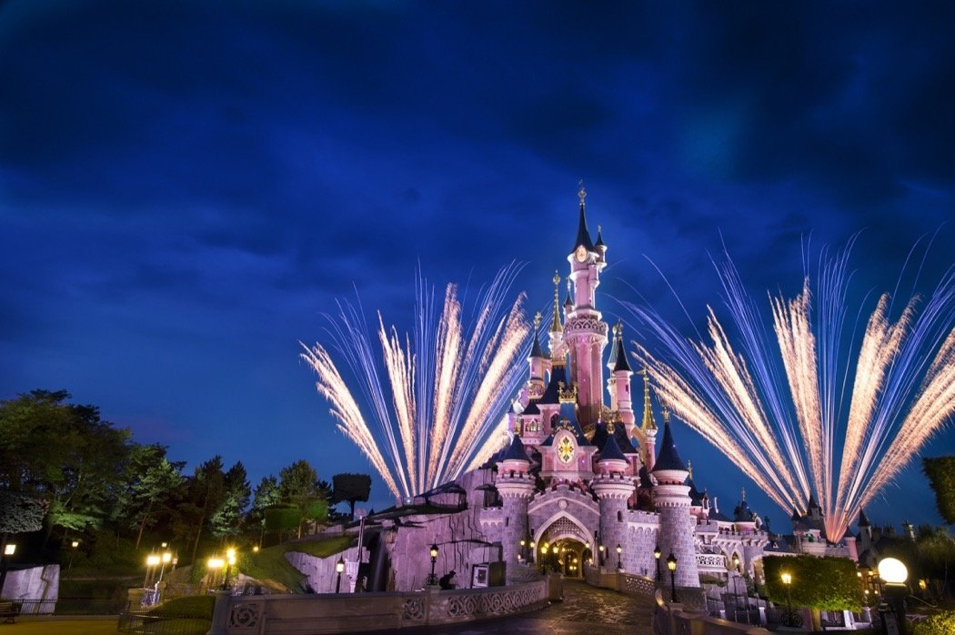 Disneyland Feuerwerk