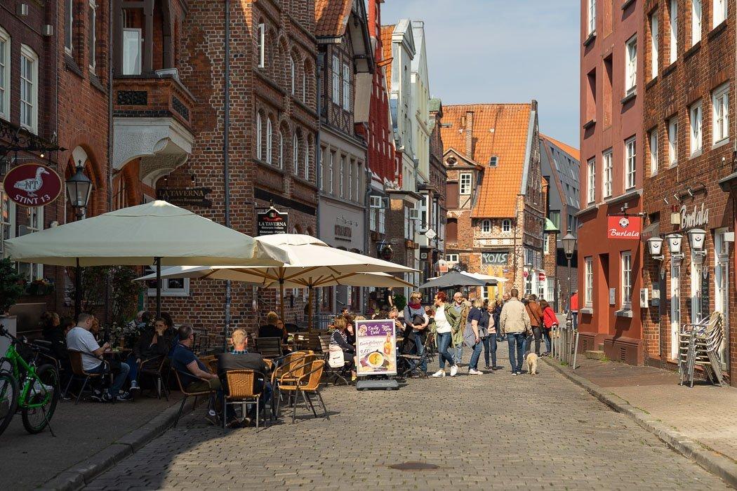 Außenbereich Tante Käthe in Lüneburg