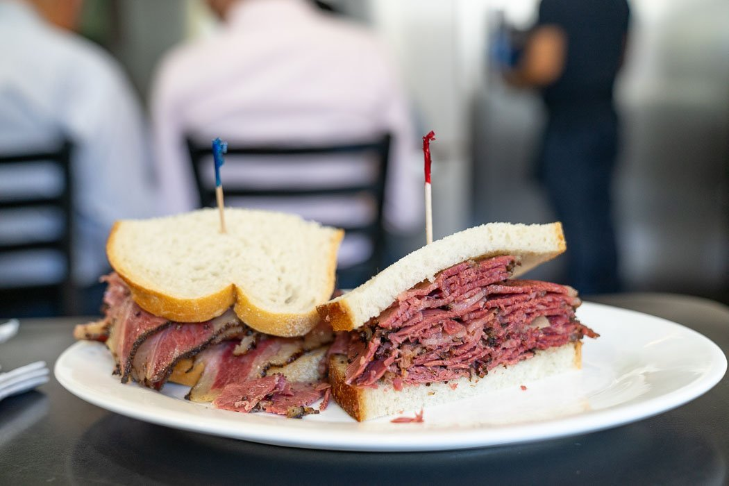 Pastrami Sandwich bei Pastrami Queen in der Upper East Side