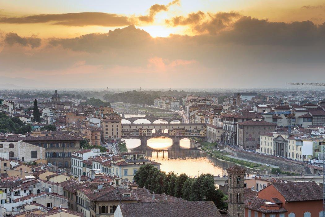 Piazzale Michelangelo Aussicht