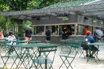 Shake Shack im Madison Square Garden