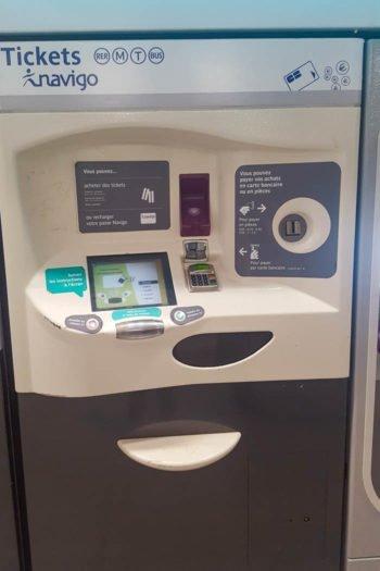 Metro Ticket Automat