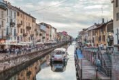 Navigli Kanäle in Mailand
