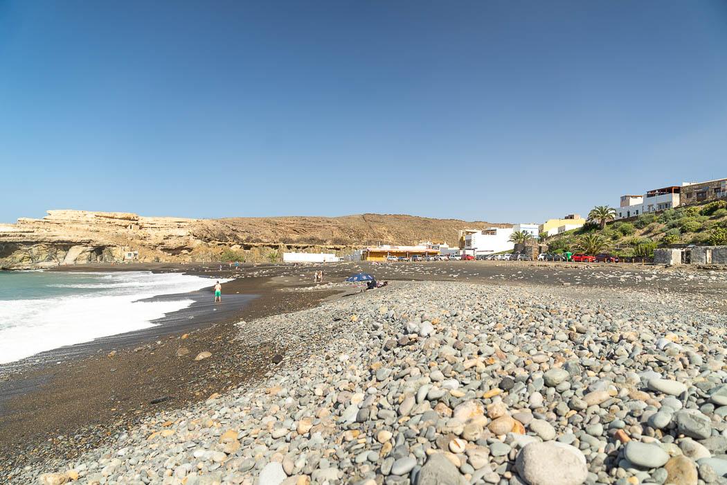 Der Strand von Ajuy