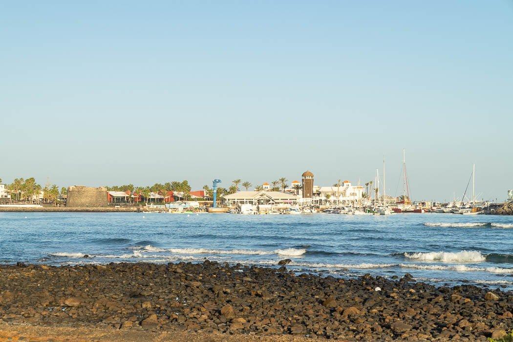 Der Hafen in Caleta de Fuste