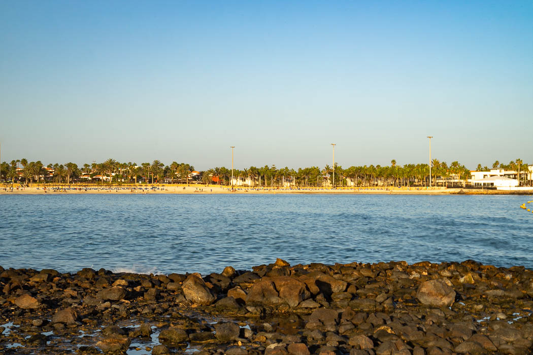 Der Strand von Caleta de Fuste