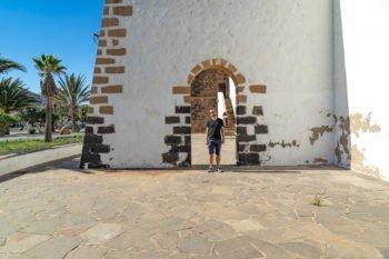 Die Kirche in La Oliva