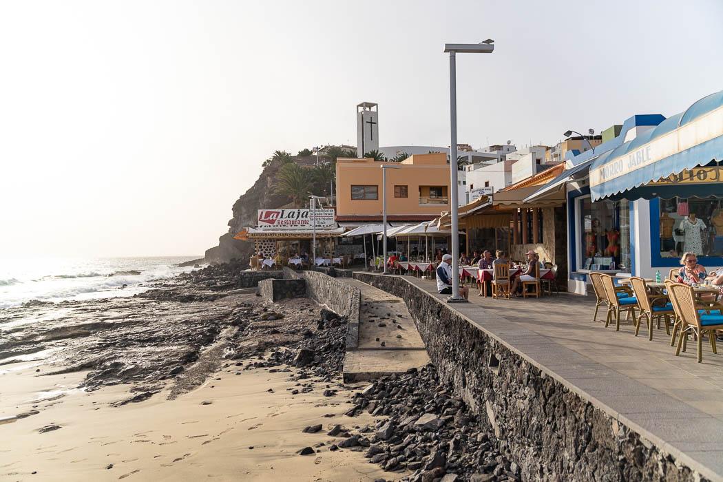 Die Promenade in Morro Jable
