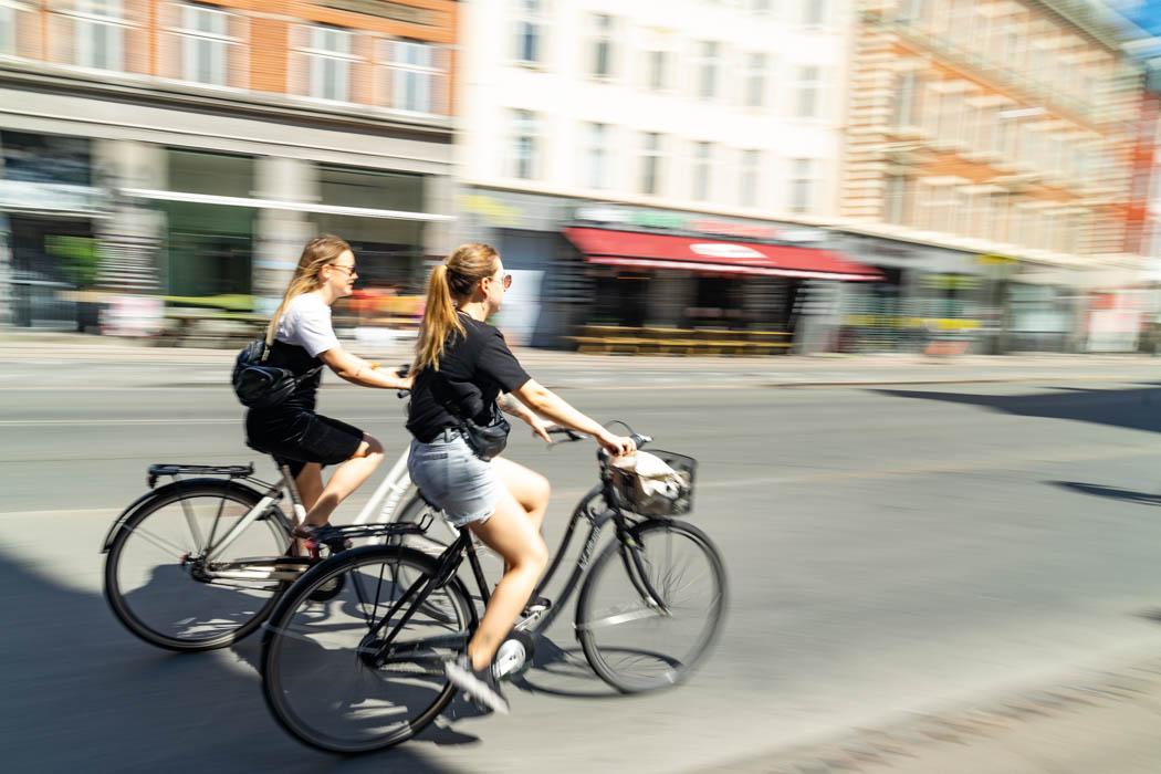 Fahrräder in Kopenhagen