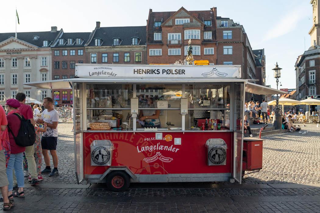 Hotdog Stand Kopenhagen