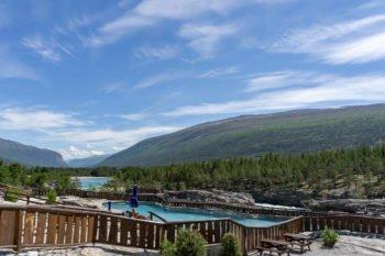 Campingplatz mit Pool