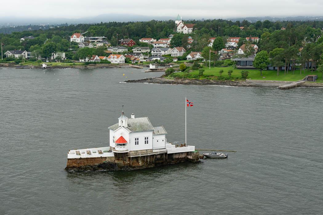 Dyna Fyr Kirche im Oslofjord