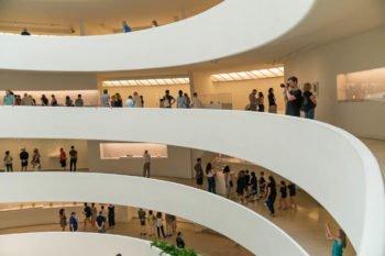 Die Rampe des Guggenheims