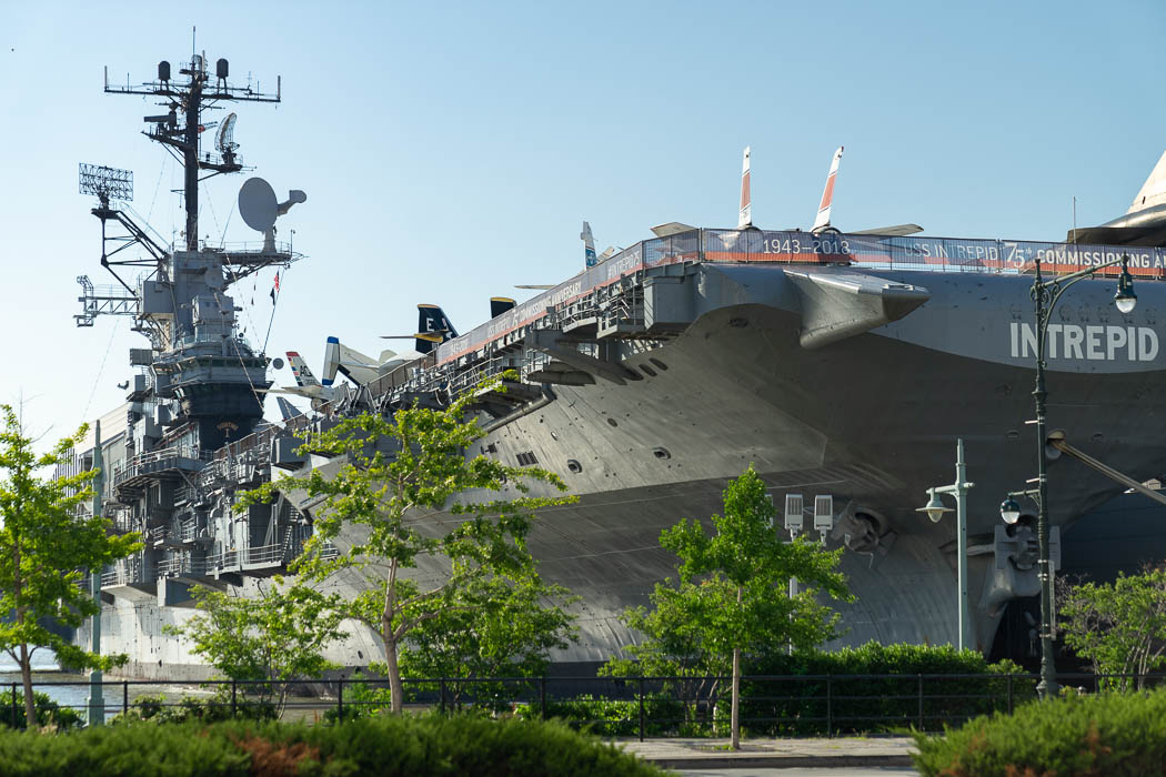 Das Intrepid Sea, Air & Space Museum