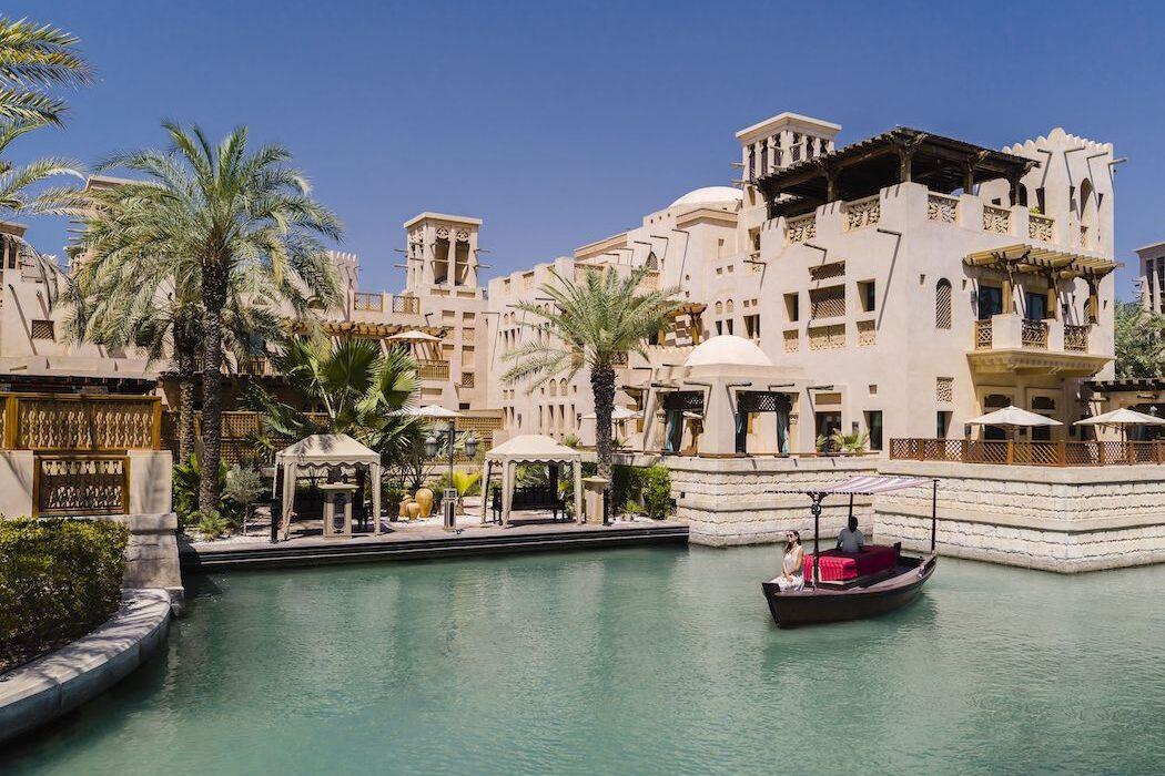 Das Jumeirah Dar Al Masyaf von außen