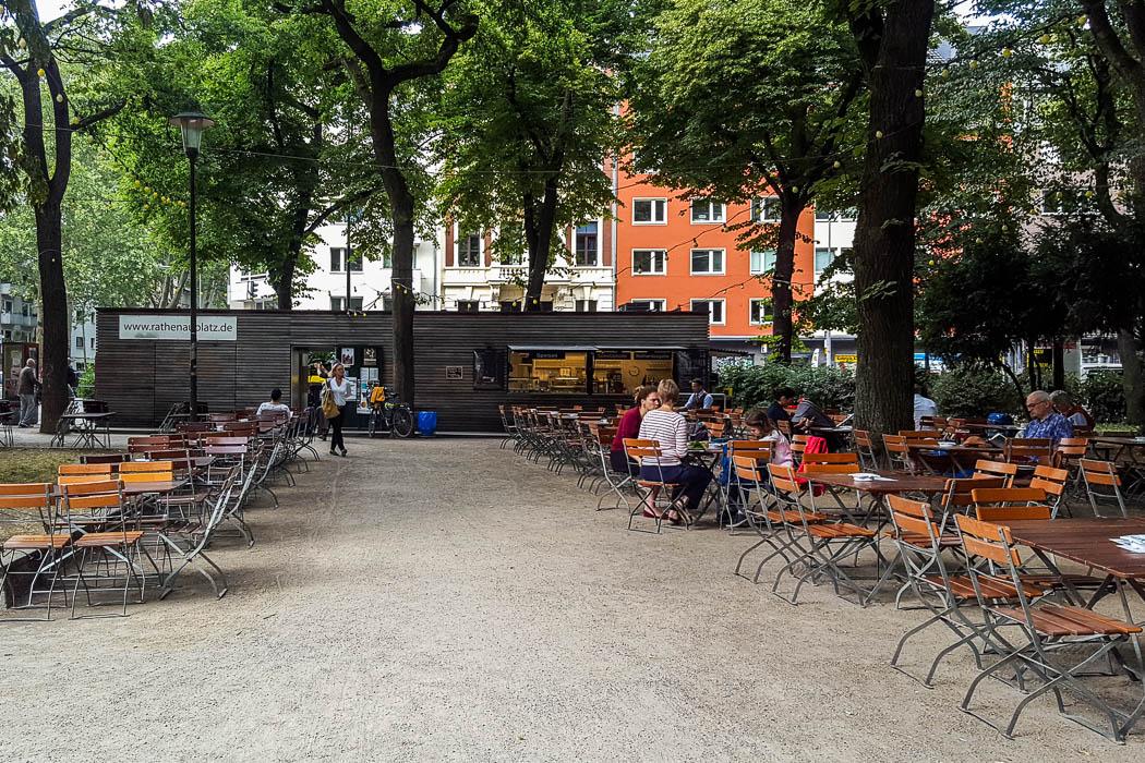 Rathenauplatz Biergarten