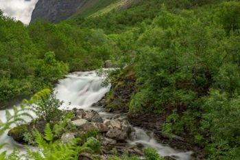 Storsetfossen Wasserfall