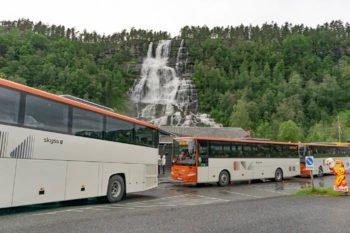 Tvindefossen Wasserfall