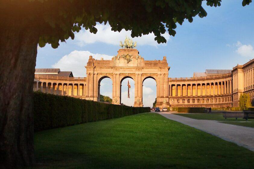 Triumphbogen im Park Brüssel