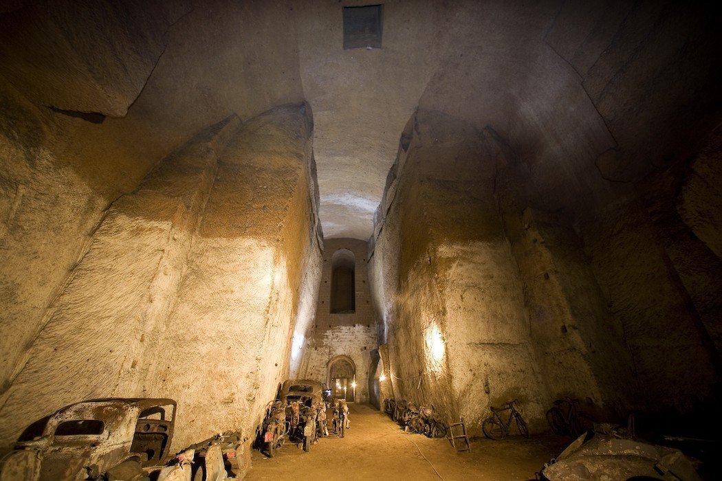 Tunnel der Galleria Borbonica